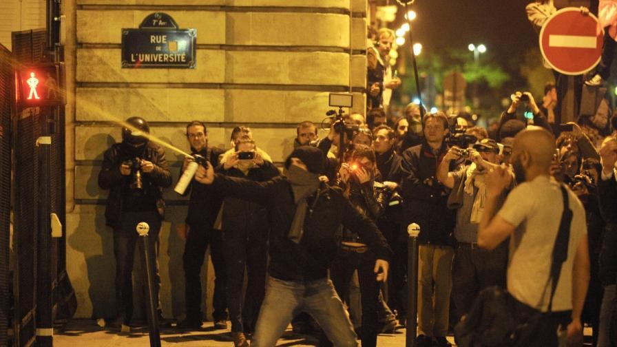 Париж: Протести срещу узаконяването на еднополовите бракове