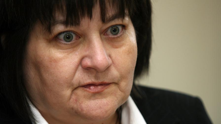 Лидия Йорданова, ръководител на Националния център за изучаване на общественото мнение