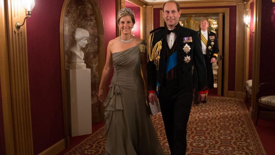 Принц Едуард и съпругата му Софи ще посетят България през юни