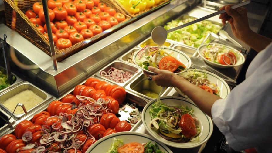 По-малкото разнообразие в храненето води до отслабване