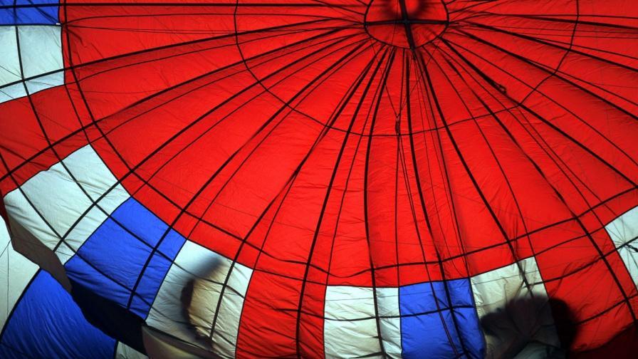 Два балона се сблъскаха във въздуха в Кападокия