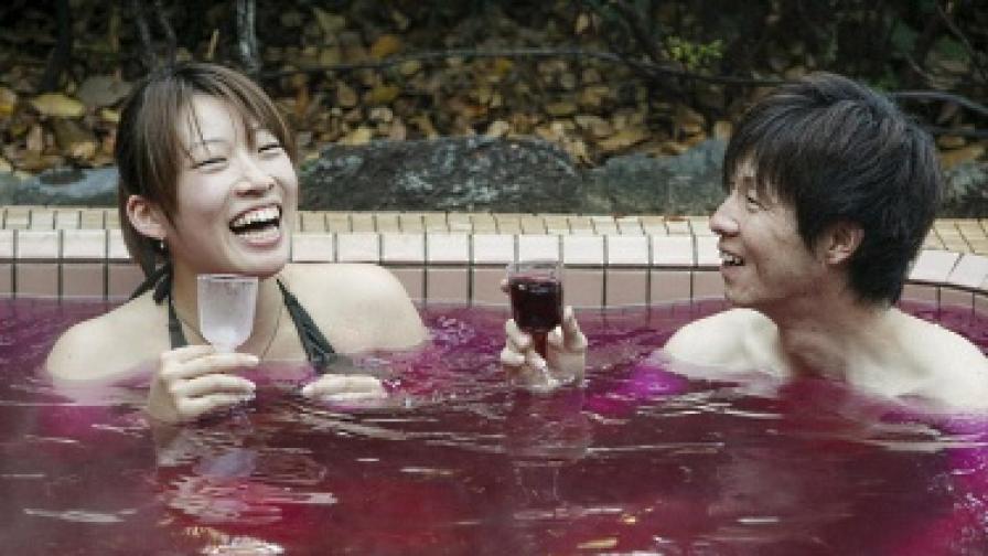 Червено вино за дълъг и щастлив живот