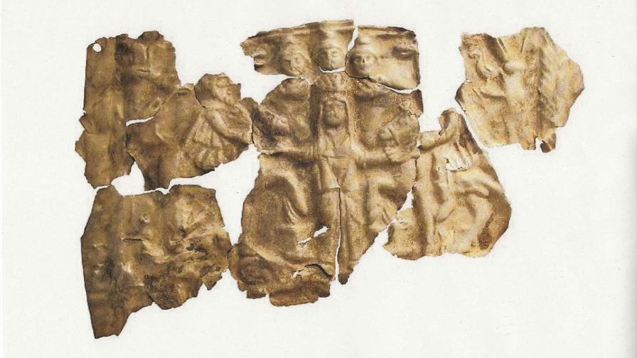 Германските власти ни върнаха откраднат римски плакет
