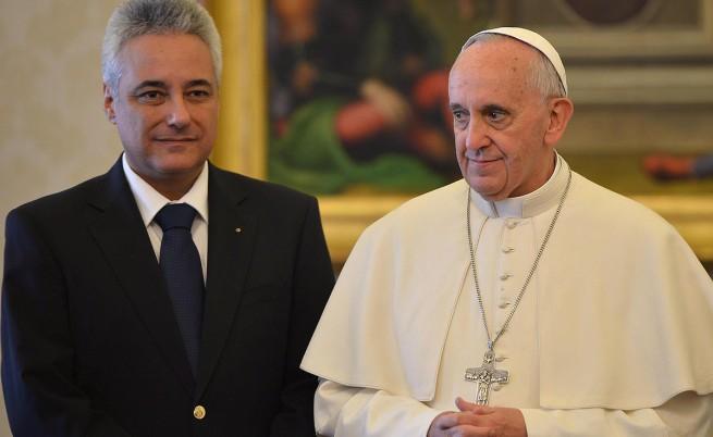 Папа Франциск благослови българите