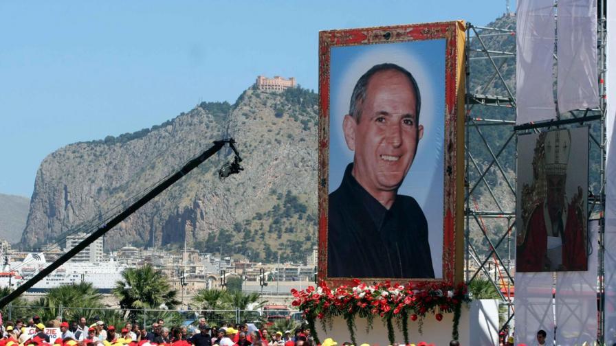 Ватиканът провъзгласи за блажен сицилиански свещеник, убит от мафията