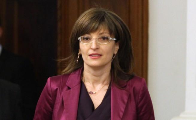 """Екатерина Захариева: Ние сме за """"Южен поток"""", но по европейски правила"""