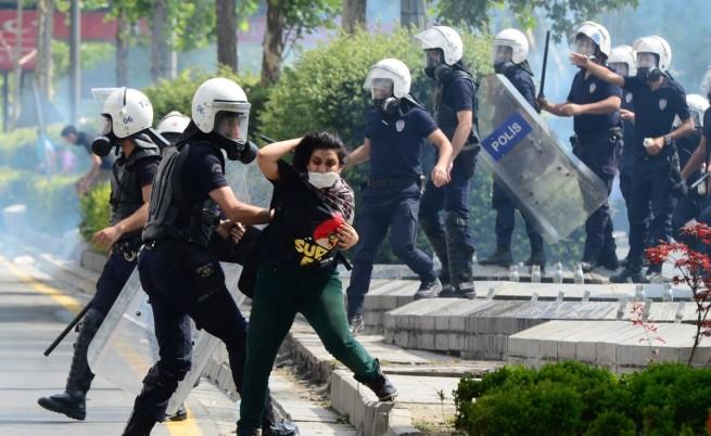 Безредиците в Турция продължават
