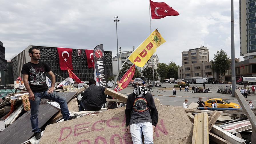 Ердоган отправи последно предупреждение към протестиращите