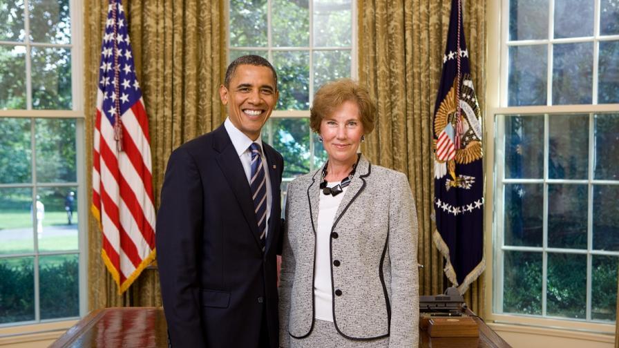 Посланик Поптодорова с президента на САЩ Барак Обама