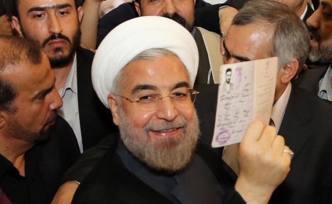 Умерен духовник е новият президент на Иран