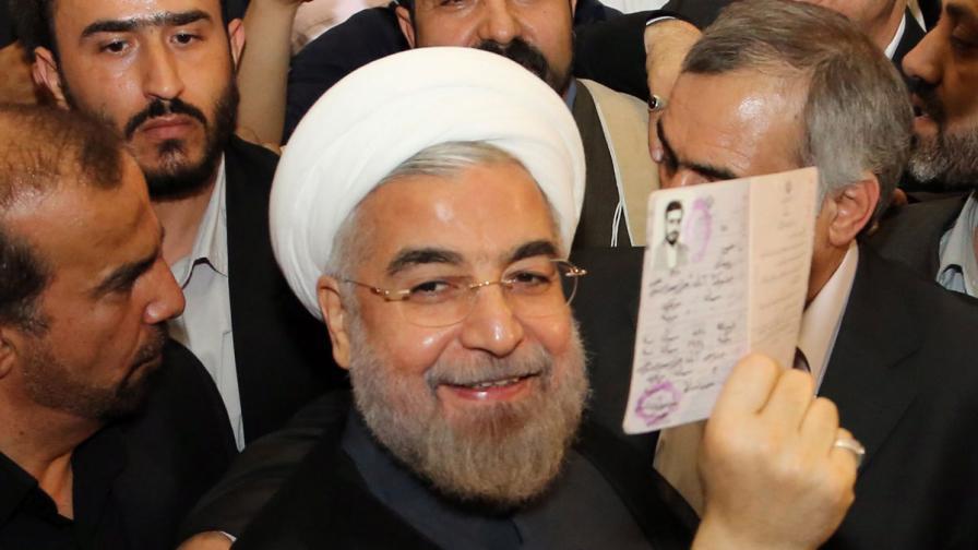 Хасан Рохани - новият президент на Иран