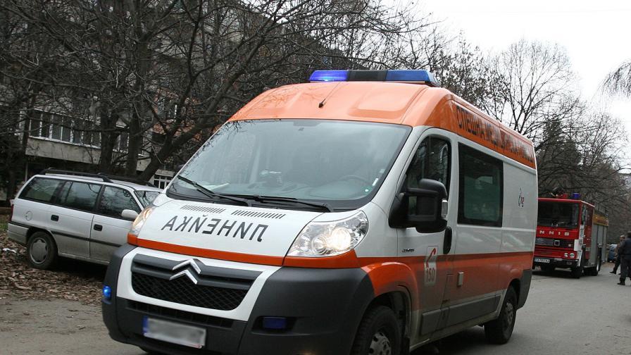 Отново катастрофа с такси в София