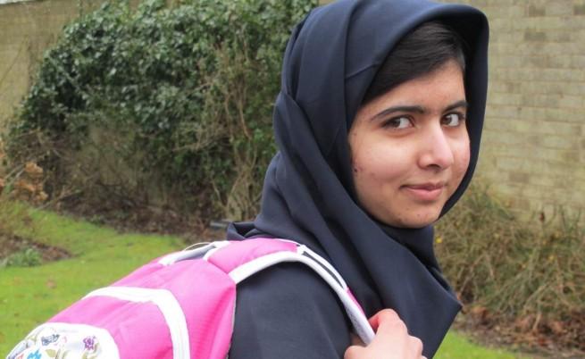 Пакистанката Маляля Юсуфзай с биографична книга и