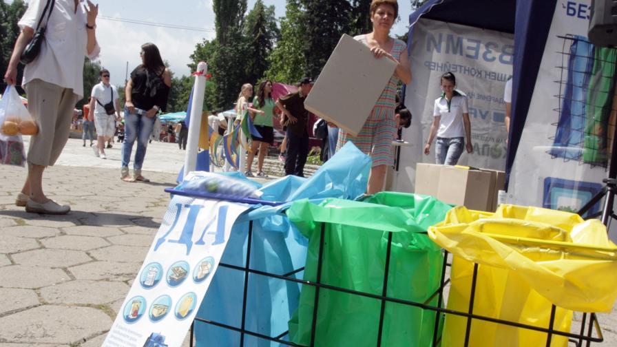 СО обещава по-добро разделно събиране на отпадъците