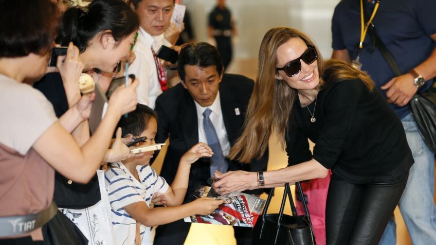 Джоли е най-високоплатената актриса в Холивуд