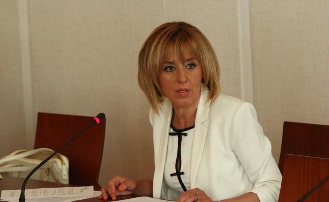 Мая Манолова: Ветото е повлияно от кръгове, търсещи политически реванш