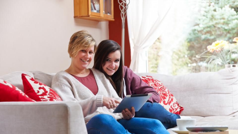 Социалните мрежи сплотяват семейството
