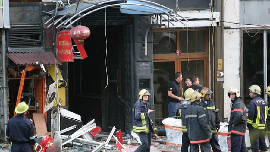 11 души са ранените след взрива в Китайския ресторант