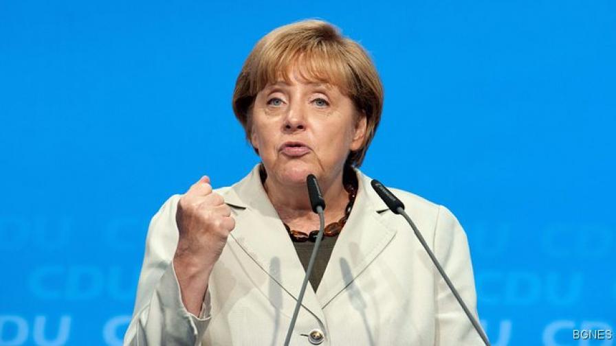 Меркел: Третият пакет с помощ за Гърция ще стане ясен през 2014