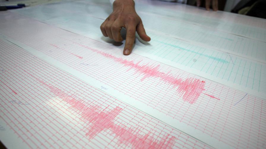 Слабо земетресение близо до Бяла, Русенско