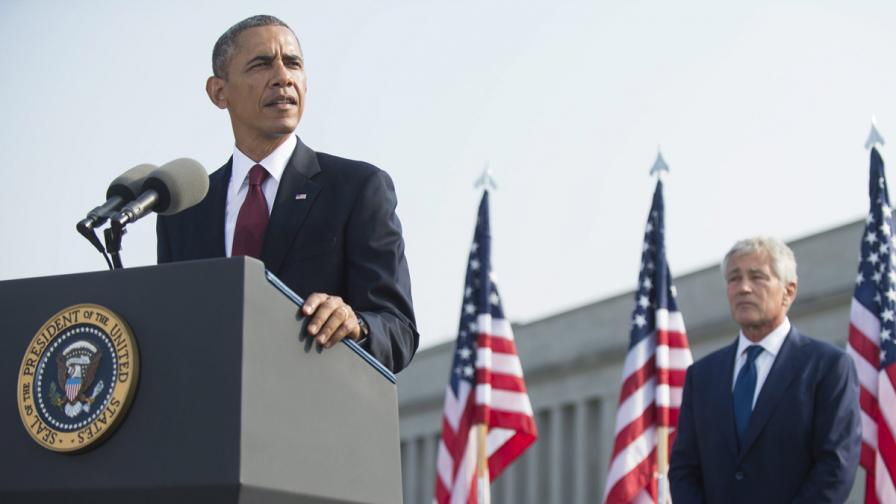 Обама: САЩ все още изпитва болка от 11 септемрви 2001 г.