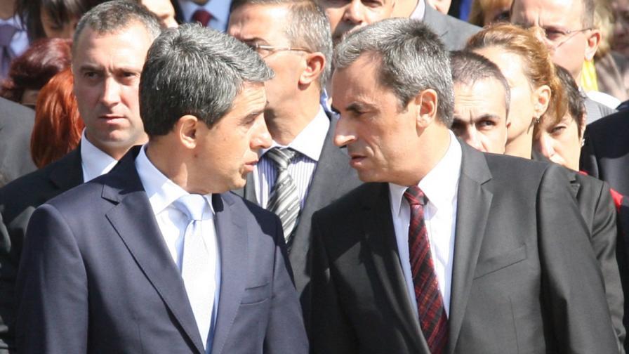Президентът и премиерът с обща позиция за Сирия