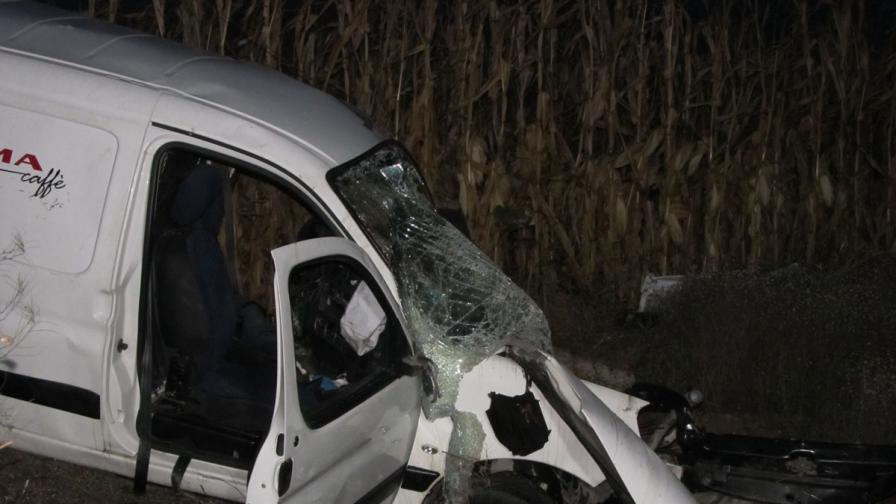 Мъж загина при тежка катастрофа край Силистра