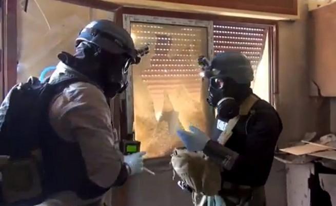 Сирия даде информация за химическия си арсенал