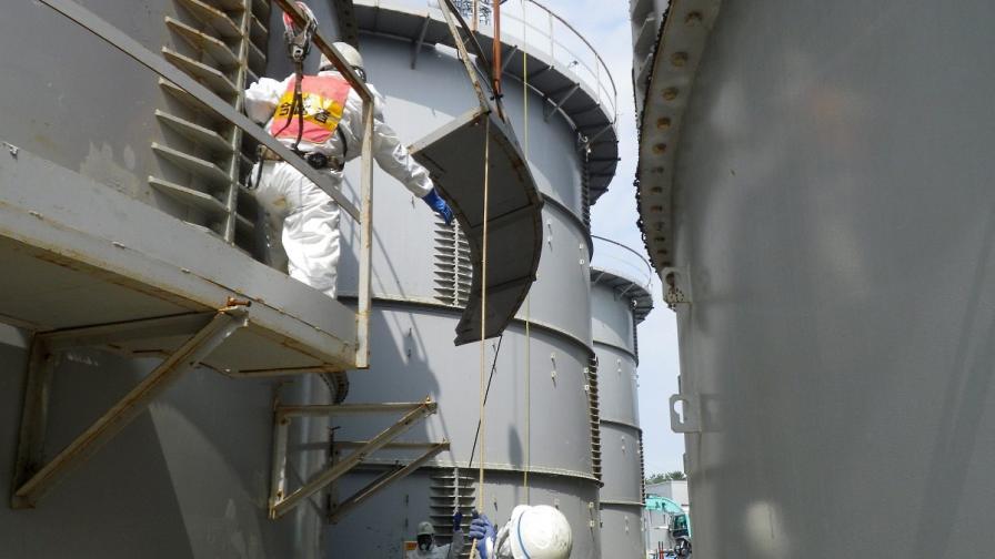 """Рекордно повишаване на радиацоинния фон във """"Фукушима-1"""""""