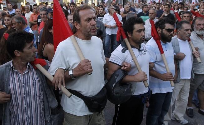 Атина: Хиляди на протест срещу неонацистите