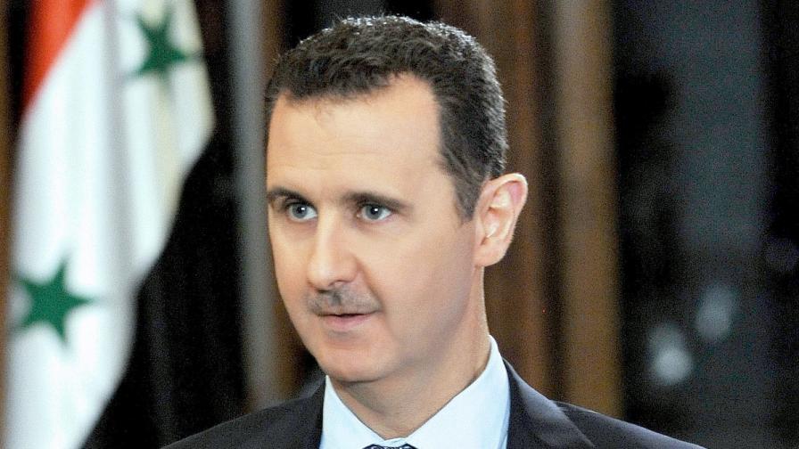 Башар Асад: Не се страхувам от резолюция в ООН