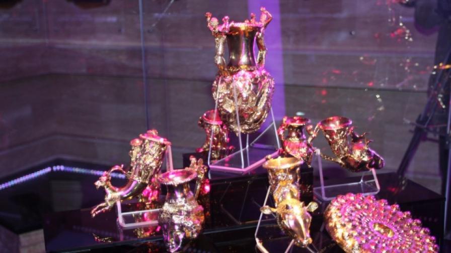 Тракийското ни злато гостува в Москва