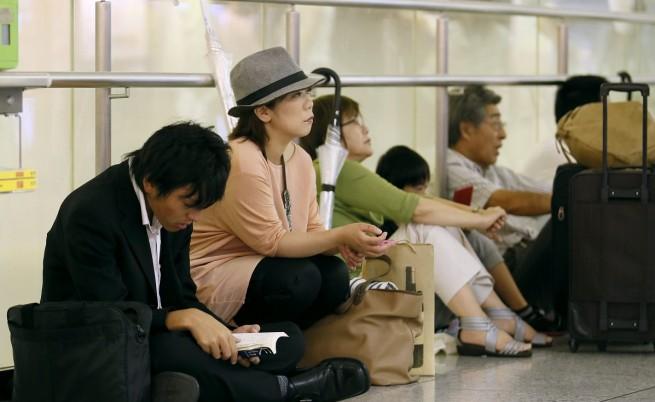 В Япония отмениха над 140 полета заради тайфуна