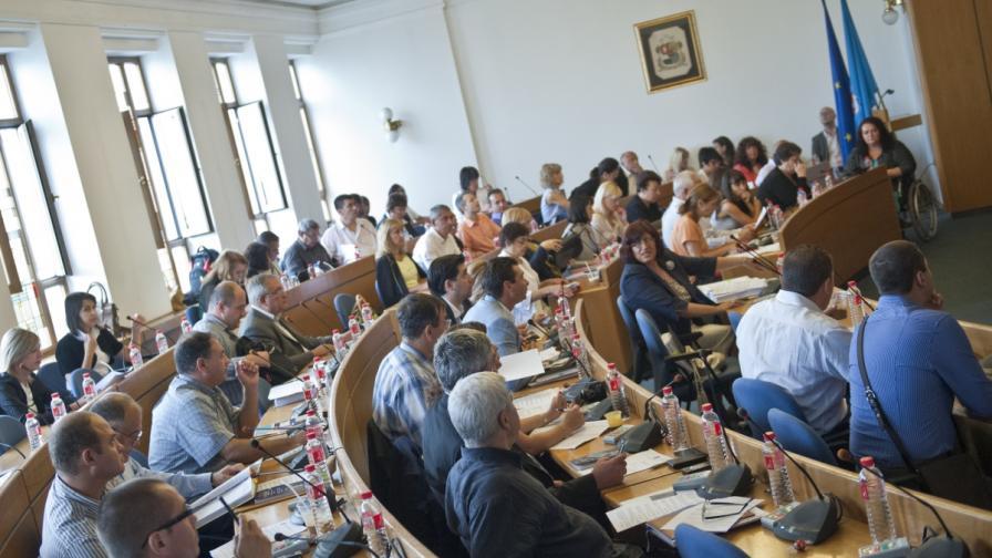 Заседание на Столичния общински съвет