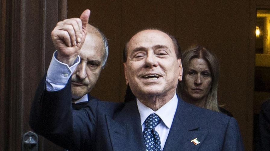 Берлускони поиска замяна на присъдата си с общественополезен труд