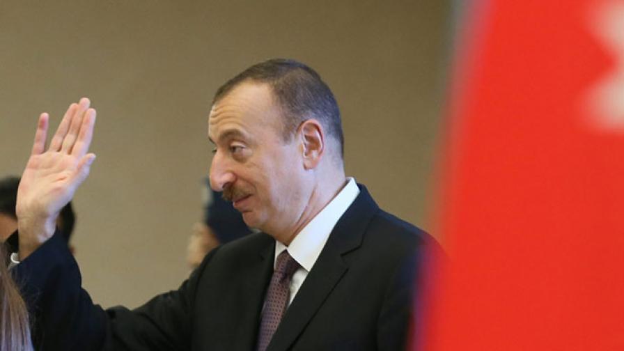 Илхам Алиев официално бе обявен за президент на Азербайджан