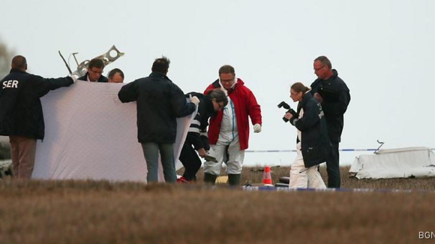 Откъснало се парче от самолетно крило е причина за трагедията в Белгия