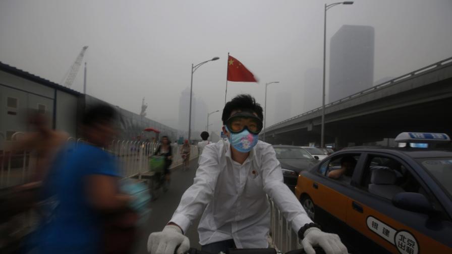 Смог парализира 11-милионен град в Китай