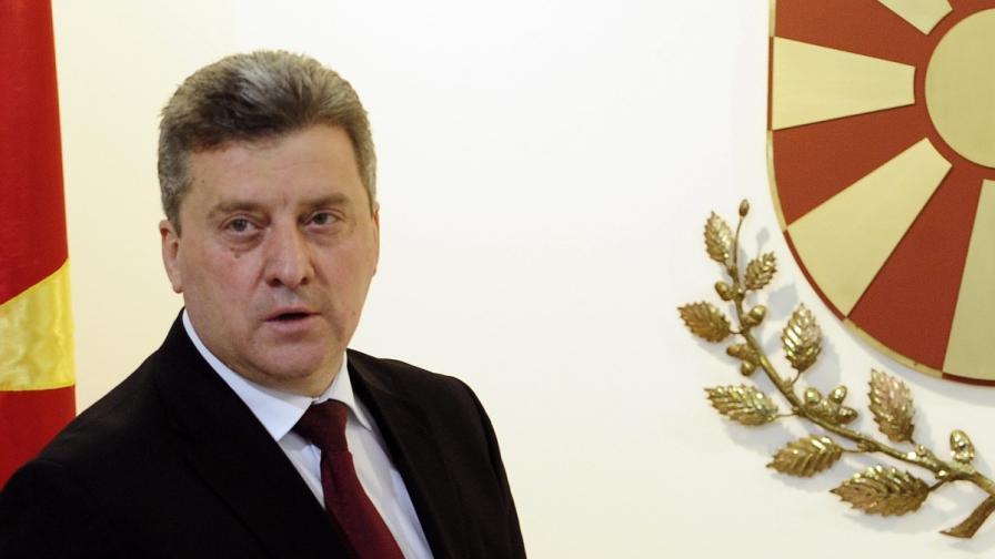 Стрелба до резиденцията на македонския президент