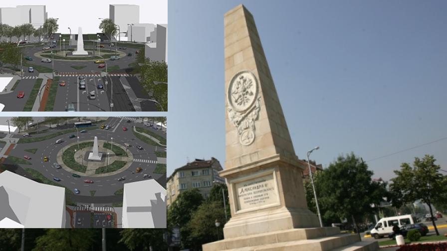 Как да бъде ремонтирано кръговото при Руски паметник?