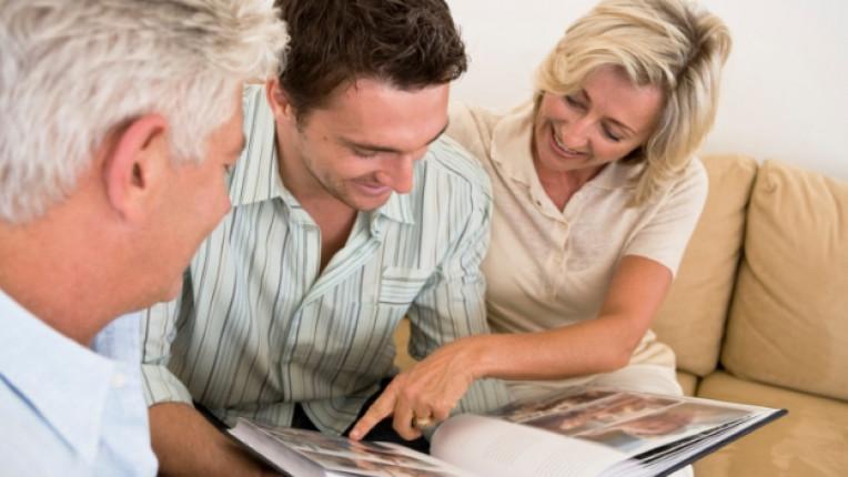 спомени детство семейство сватба приятели материален ценност