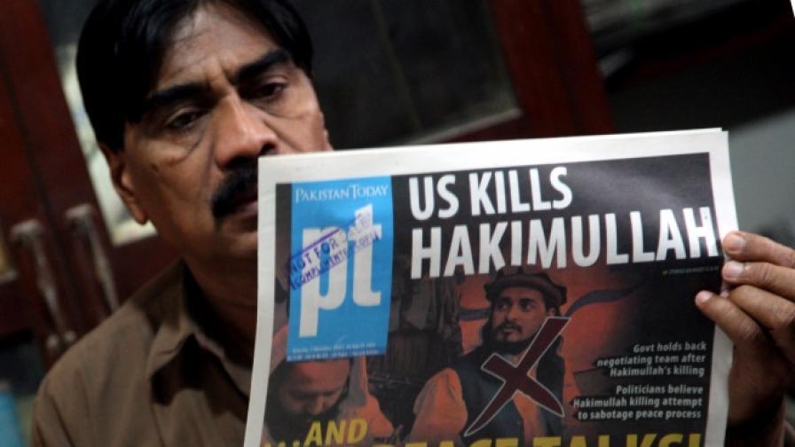 Напрежение в Пакистан след убийство на талибански лидер