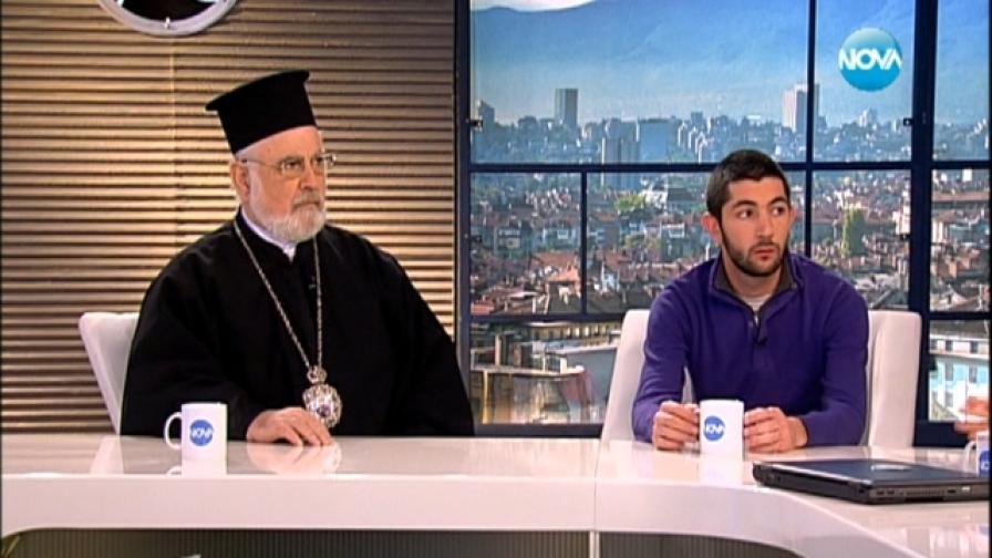 Епископ Тихон и Станислав Въчин