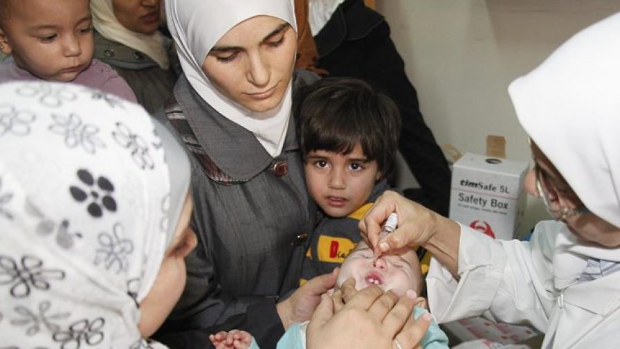 Сериозни предупреждения за полиомиелита от Сирия