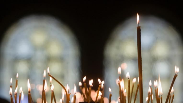 свещи църква вяра