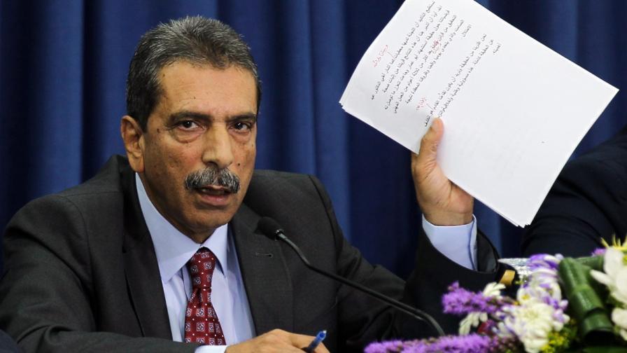 Ръководителят на палестинската следствена комисия Тауфик Тирауи
