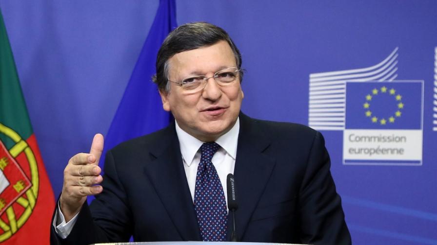 Председателят на ЕК Жозе Барозу