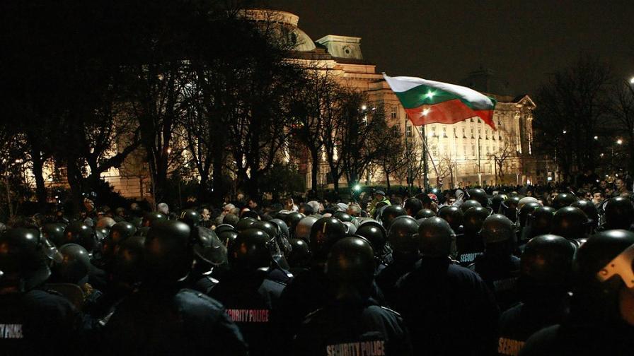 Очаквано напрежение на утрешния митинг в София
