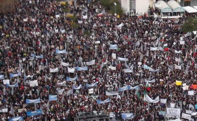 Над 35 хил. души на митинга на ГЕРБ в Пловдив