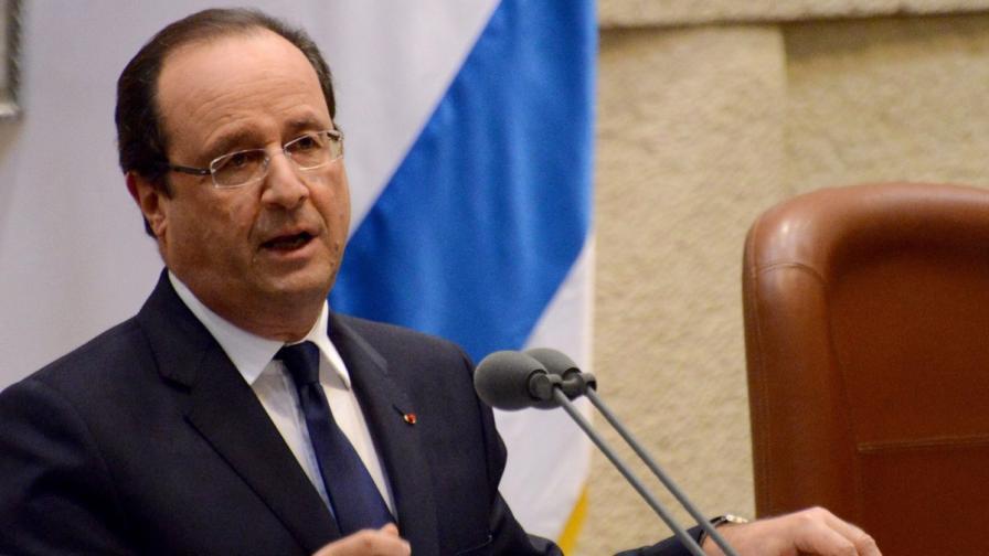 Оланд: Йерусалим да е обща столица на Израел и на бъдеща палестинска държава